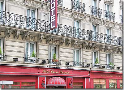 Hotel Claude Bernard Saint Germain Paris Near Latin Quarter Left